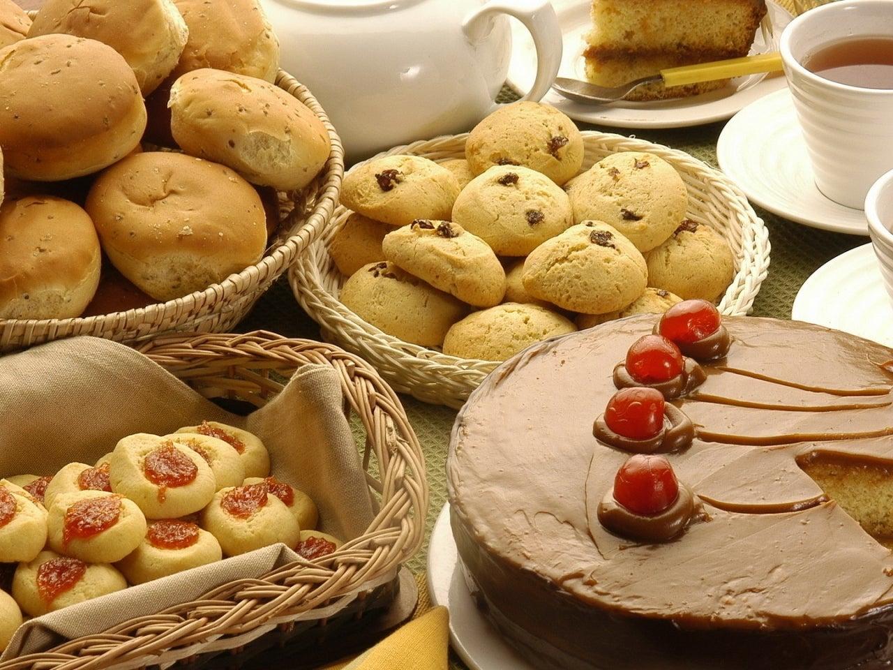 alimentos pasteles