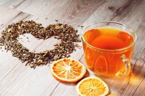 bebida para la tos cáscara naranja