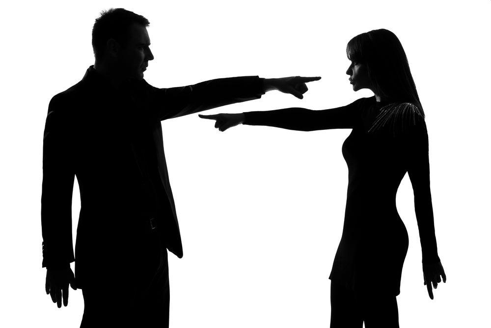 Culpar en la pareja