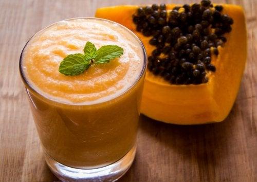 detox papaya
