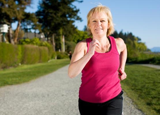 Ejercicio en la menopausia.