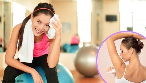 Cómo solucionar el exceso de sudoración sin antitranspirantes