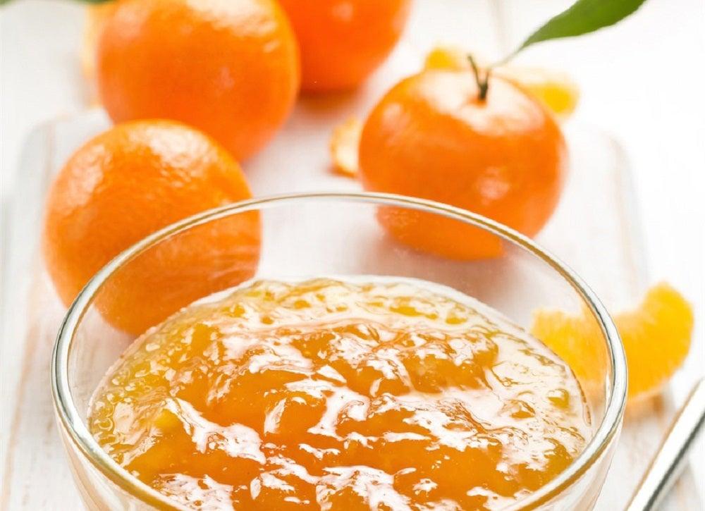 golosinas expectorantes de mandarina para aliviar el resfriado