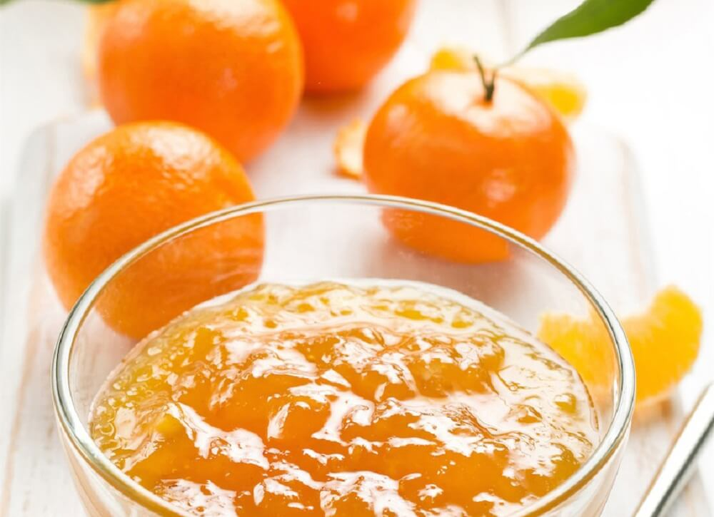 Golosinas de mandarina.