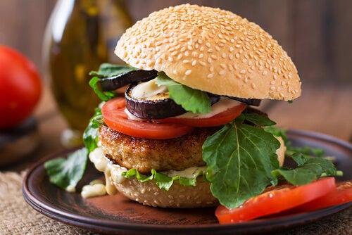 hamburguesas veganas