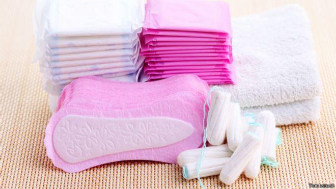 menorragia toallas