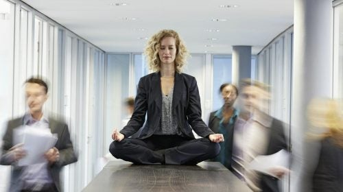 Mindfulness trabajo para reducir la ansiedad