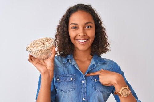 4 formas de perder peso con avena