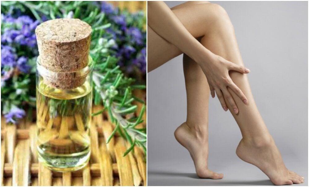 Cómo preparar un aceite reafirmante para las piernas