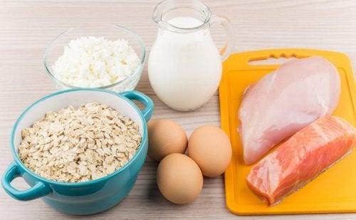 Alimentos proteicos para controlar los antojos de azúcar