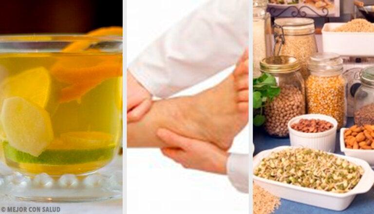 9 recomendaciones para eliminar los líquidos en exceso