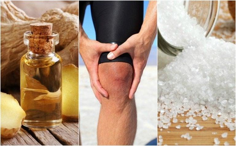 Cómo hacer 5 remedios relajantes para aliviar el dolor de rodillas