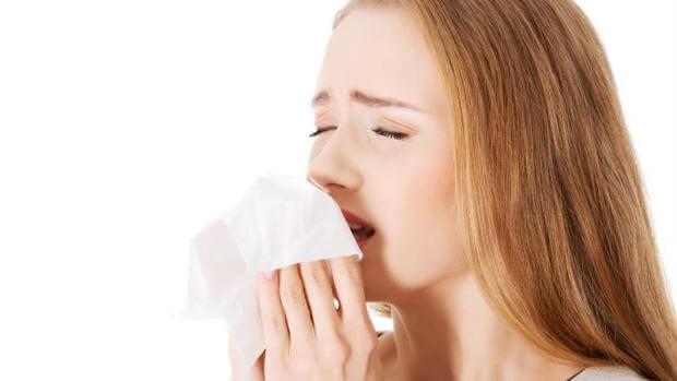 estornudar por sensibilidad química múltiple