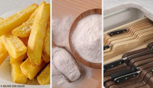8 trucos de cocina que te sacarán de apuros