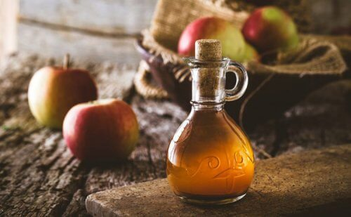 Vinagre de manzana.