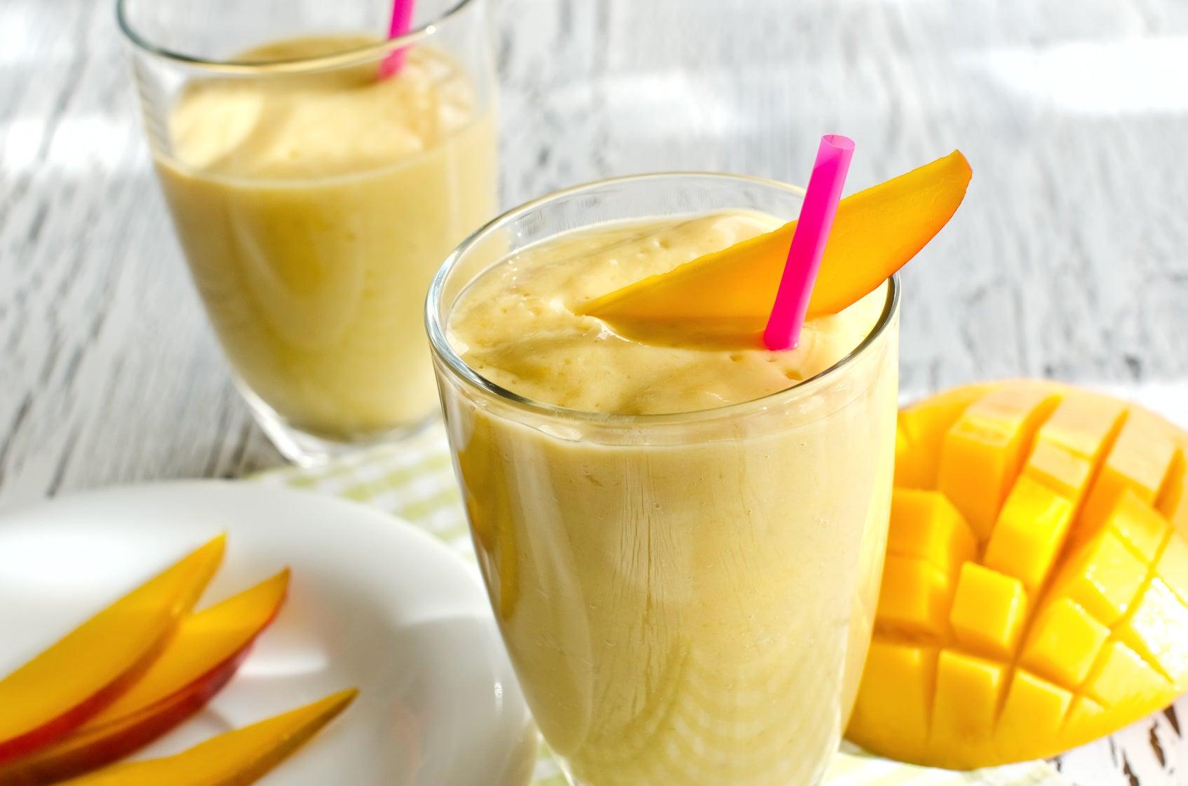 Batido de zanahoria y mango