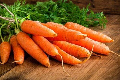 Algunas personas son alérgicas a las zanahorias