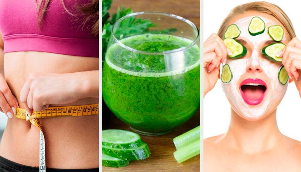5 interesantes usos del pepino en tu rutina de belleza
