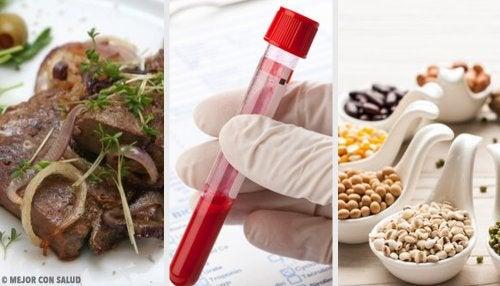 5 alimentos para tener una sangre de mejor calidad