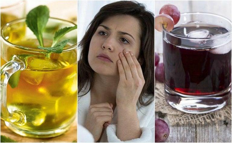 5 bebidas saludables para el tratamiento de la anemia