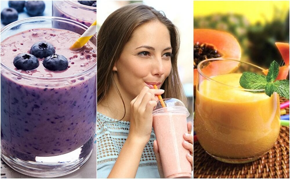 5 licuados saludables para tu desayuno diario