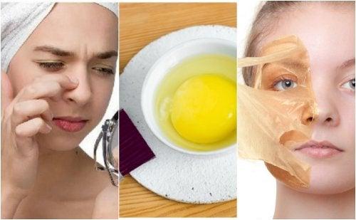Como hacer mascarilla de clara de huevo