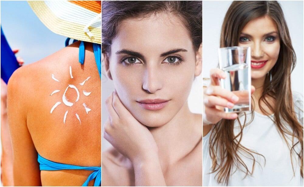 6 hábitos que deberías adoptar para evitar el envejecimiento prematuro de tu piel