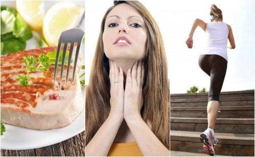 6 recomendaciones para mejorar el funcionamiento de tu tiroides