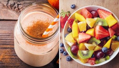 7 batidos nutritivos para desayunar cada día de la semana