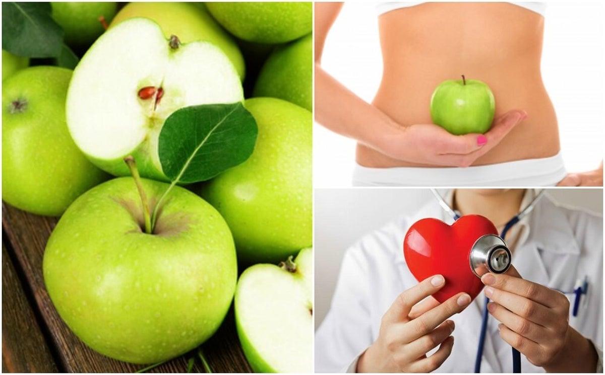 calorias manzana verde sin cascara