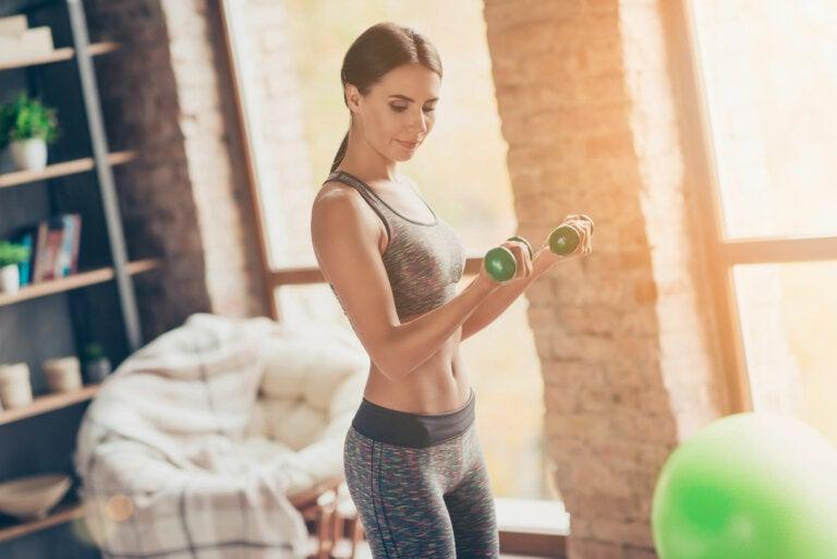 ¿Qué es mejor? ¿Más peso o más repeticiones en el ejercicio?