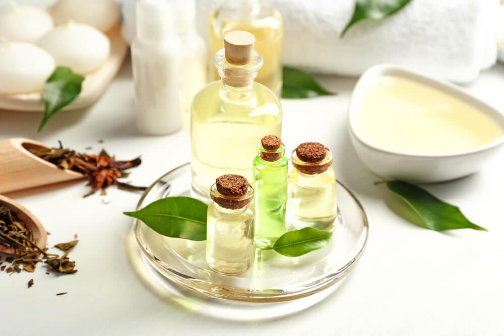 Aceite de arbol de te para la caida del cabello