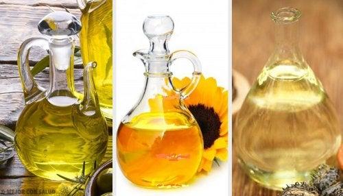 Lo que necesitas saber acerca de los aceites comestibles