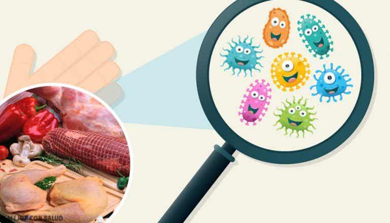 Alimentos con más gérmenes y cómo protegerse