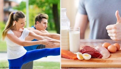 Alimentos para después de hacer ejercicio físico