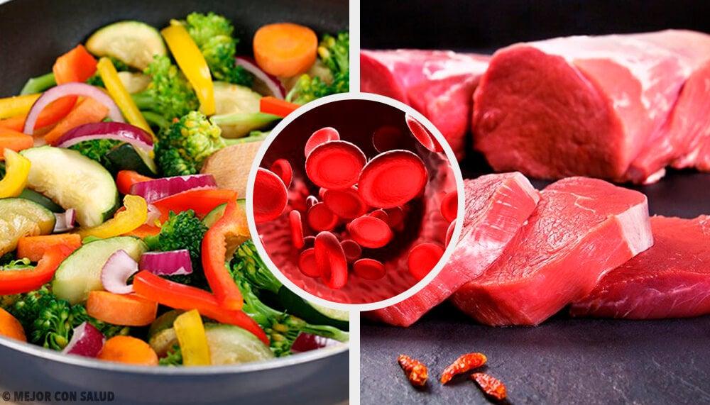 Alimentos que debes consumir para tener niveles de hemoglobina normales