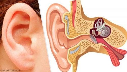 sintomas de tener un tapon en el oido