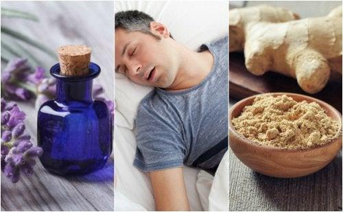 Cómo combatir la apnea del sueño con 5 remedios naturales