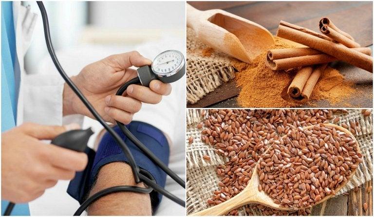 Disminuye la presión arterial alta con productos naturales