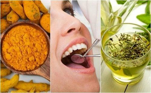 Cómo preparar 5 remedios naturales para combatir la caries dental