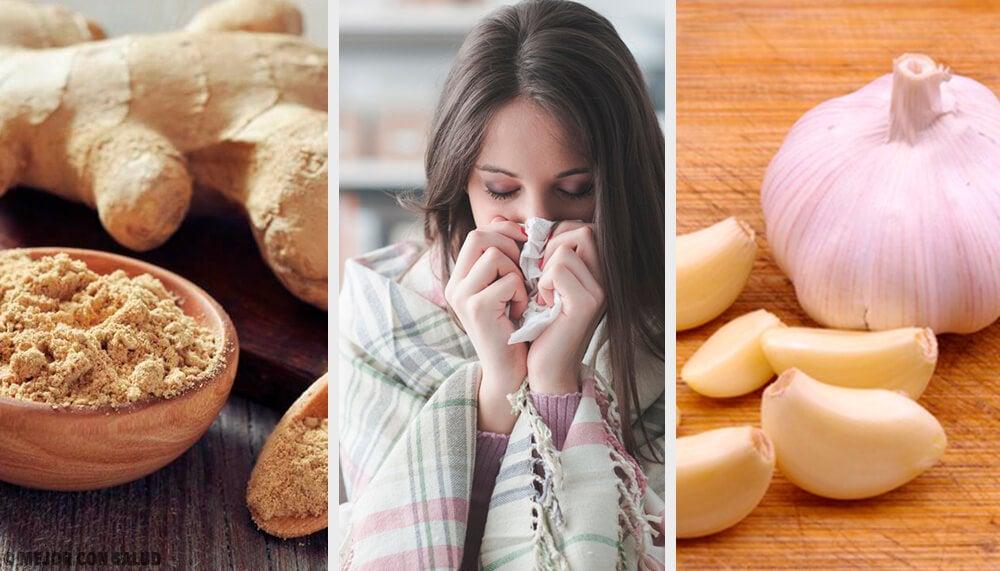¿Cómo prevenir los síntomas de la gripe con remedios caseros?