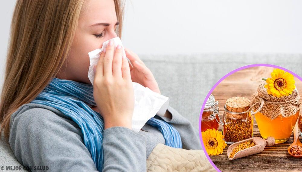 Cómo tomar el propóleo ante los primeros síntomas de gripe y resfriado