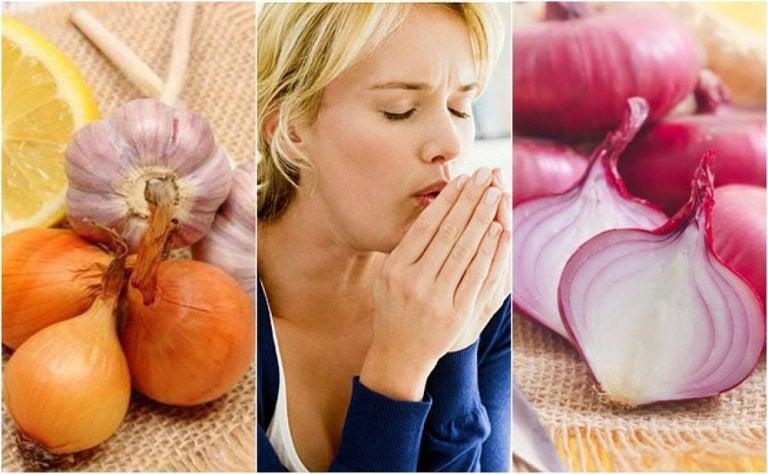 Cómo utilizar cebolla para combatir la tos de forma natural
