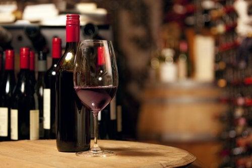 Una copa de vino al día
