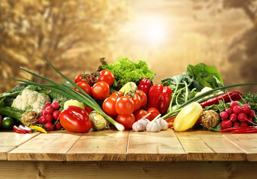 Conoce las propiedades de los vegetales según su color