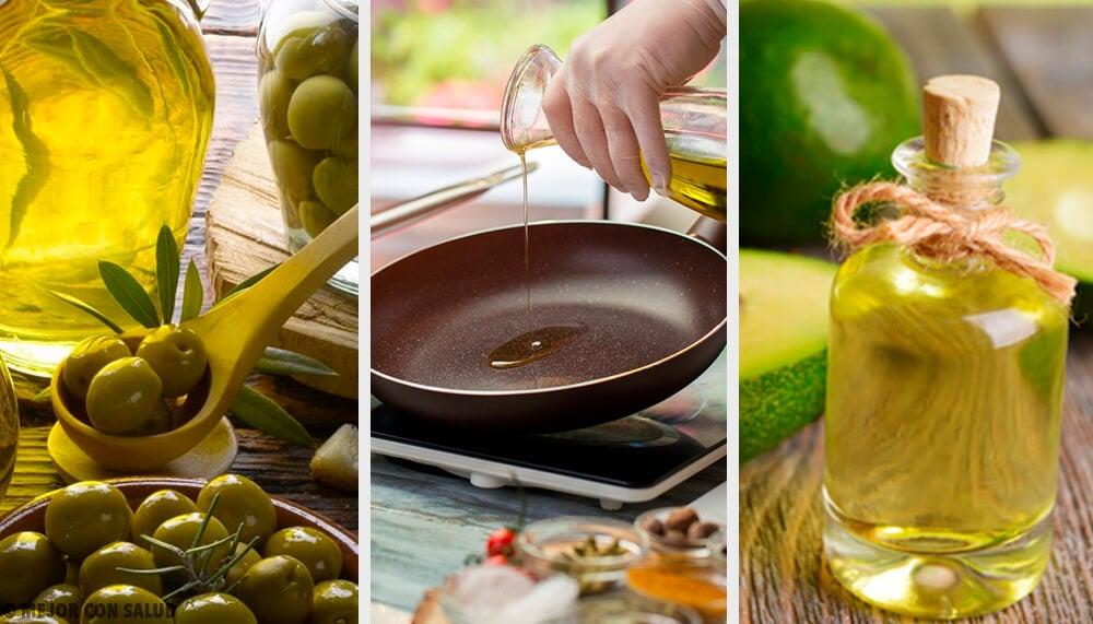 ¿Cuál es el aceite más saludable para freír?