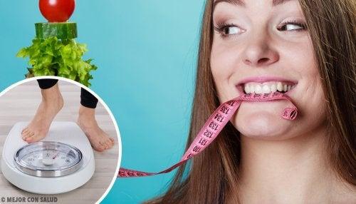 ¿Cuántas comidas diarias debes hacer para perder peso?