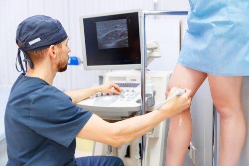 Diagnóstico de venas varicosas