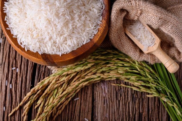 El uso del arroz en la cosmética casera