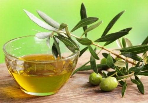 Infusiones de olivo para la piel